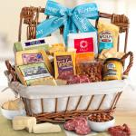 Happy Birthday Cheese Hamper Gourmet Gift Basket