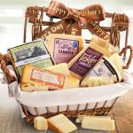 Happy Father's Day Cheese Hamper Gourmet Gift Basket