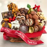 Thank You Chocolate Bliss Basket
