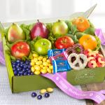 Mother's Day Sweets and Fruit Deluxe Gift Box