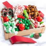 Sweet Christmas Candy Crate