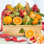 Holiday Fruit Crate