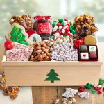 Christmas Treats & Sweets in Large Tree Crate