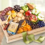 Fresh Fruit, Cheese & Charcuterie Crate