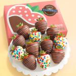 Made with Ghirardelli Birthday Celebration Chocolate Covered Strawberries - 12 Berries