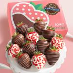Made with Ghirardelli Love is Sweet Chocolate Covered Strawberries - 12 Berries