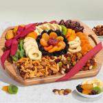 Platter of Plenty Dried Fruit & Nuts Gift