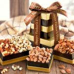 Father's Day Gourmet Nut Tower