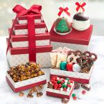 Christmas Candy Shoppe with Caramel Apples Tower