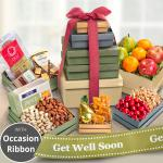 Get Well Market Deluxe Fruit & Charcuterie Tower