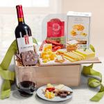 Epicurean Gift Crate with LangeTwins Cabernet Sauvignon