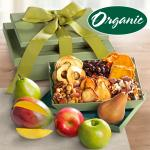 Organic Fruit & Nuts Gift Basket