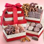Chocolate, Caramel and Crunch 3 Box Gift Tower