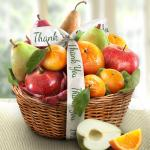 Thank You Fruit Favorites Basket