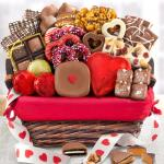 Valentine Chocolate Bliss Assortment Gift Basket