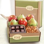 Gracious Giver Fruit and Gourmet Gift Box