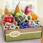 Springtime Festival Fruit and Chocolate Gift Box
