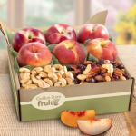 Sweet Summer Nectarines and Peaches with Nuts
