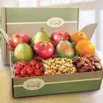 Best Wishes Deluxe Fruit Gift