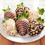Nuts About Chocolate Dipped Strawberries - 6 Berries