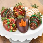 Fall Chocolate Covered Strawberries - 6 Berries