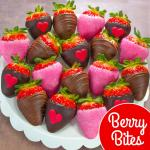 18 Love Bites Chocolate Covered Strawberries (Fun Size)