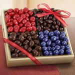 Chocolate Covered Bliss Fruit and Nuts Tray