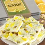 Lemon Pistachio White Chocolate Bark Gift Tin