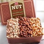 2.5 LB Smoky, Savory and Sweet Nuts Gift Tin