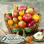Organic Cali-Fresh Fruit Basket