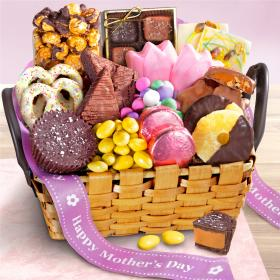 AA9001M, Mother's Day Chocolate Bliss Basket