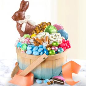 Easter and spring fruit baskets and gifts page 1 of 2 a gift easter treats gift basket negle Image collections