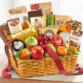 AA3034, Bountiful Gourmet Artisan Collection Fruit Basket