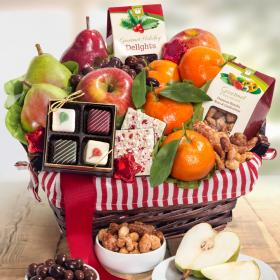 AA4050, Holiday Treasures Fruit Basket