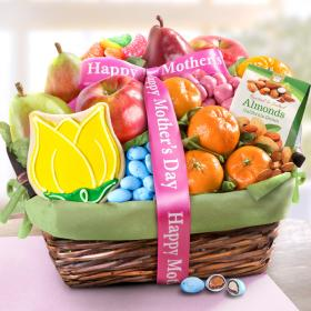 AA4050M, Mother's Day Fruit and Treats Basket