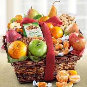 AA4094, Orchard Delight Fruit and Gourmet Basket
