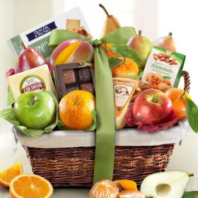 AA4101, The Classic Deluxe Fruit Basket