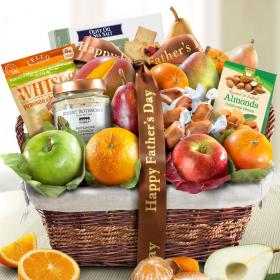 AA4101F, Father's Day Deluxe Fruit Basket