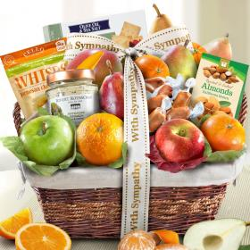 AA4101S, Sympathy Classic Deluxe Fruit Basket