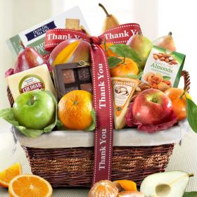 AA4101T, Thank You Classic Deluxe Fruit Basket