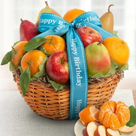 AA4103B, Happy Birthday Fruit Favorites Basket