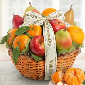 AA4103S, Sympathy Fruit Favorites Basket