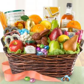 Easter and spring fruit baskets and gifts page 1 of 2 a gift family brunch easter basket negle Image collections