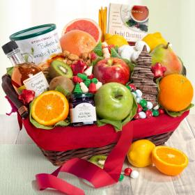 AA5010X, Christmas Morning Family Brunch Fruit Basket