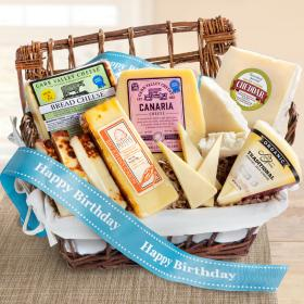 AA5030B, Happy Birthday Cheese Hamper Gourmet Gift Basket