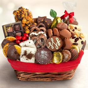 AA9001, Chocolate Bliss Basket