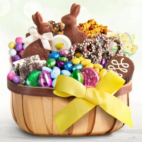AA9001E, Easter Chocolate Bliss Gift Basket