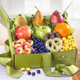 AB1025, Springtime Festival Fruit and Chocolate Gift Box