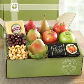 AB2017, Perfect Pairings Deluxe Fruit, Cheese and Gourmet Gift Box