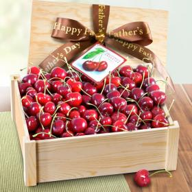 AC1065F, Happy Father's Day Fresh California Cherries Gift Crate